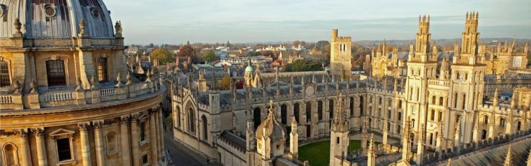 Radcliff Camera and All Souls College buildings