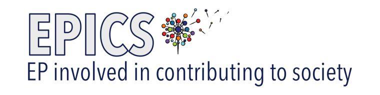 EPICS logo with dandelion image