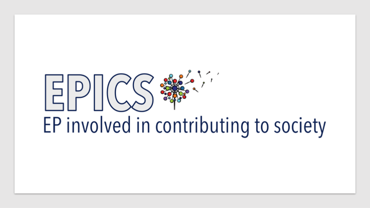 EPICS logo with dandelion