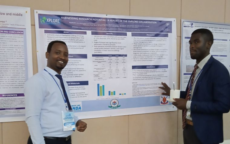 OxPLORE poster presented at InciSioN Global Surgery Symposium 2019, Kigali.