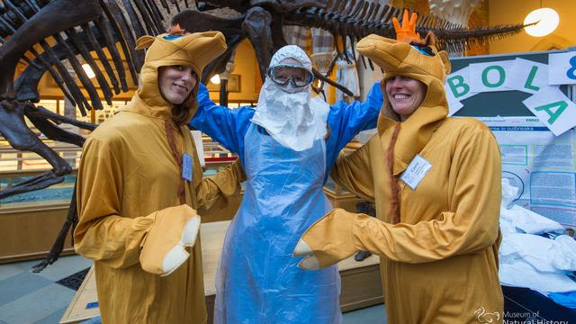 Super science saturday event at the natural history museum