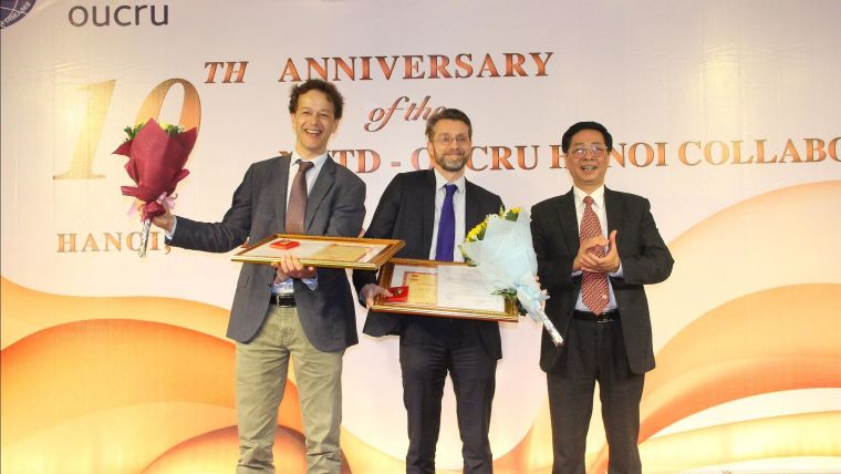 Vietnamese honour for two oxford professors