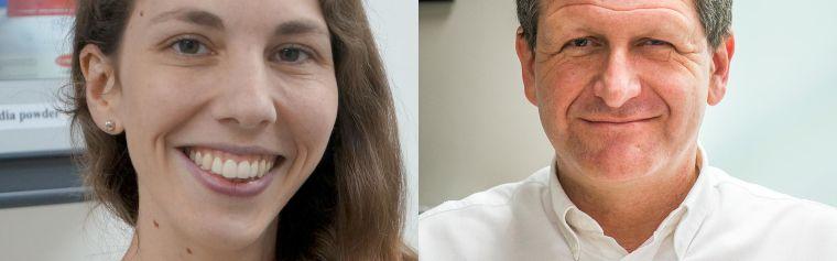 Jeanne Salje and Nick Day