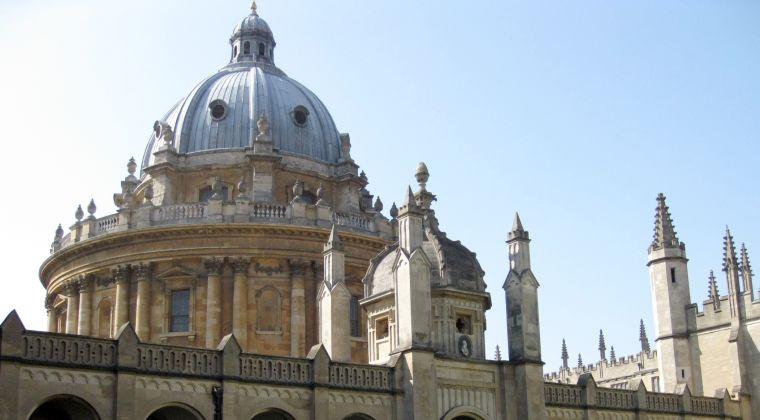 Oxford city skyline