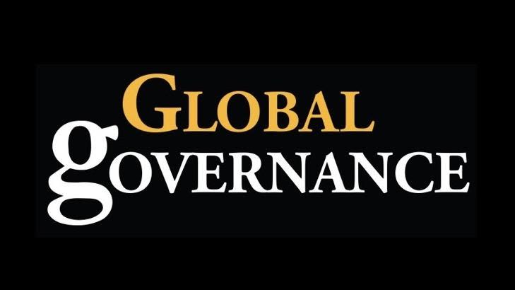 logo for the journal Global Governance