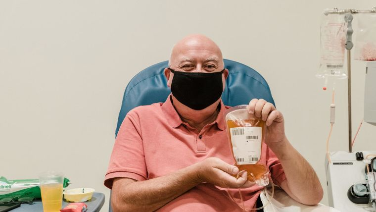 John Curtis. Image courtesy of NHS Blood and Transplant.