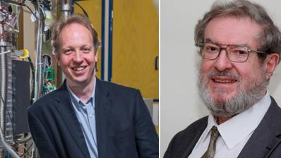 Professor Peter Nellist and Professor George Smith