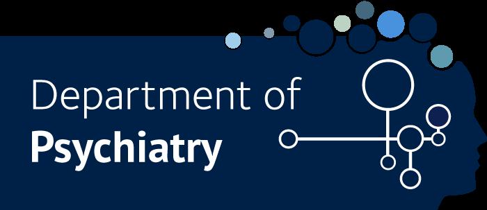 Department of Psychiatry full logo