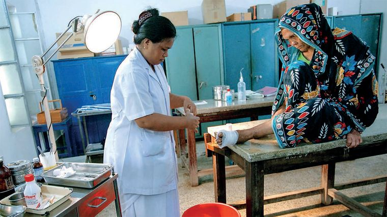 Lancet highlight 2018 walking out of the shadows leprosy care in bangladesh