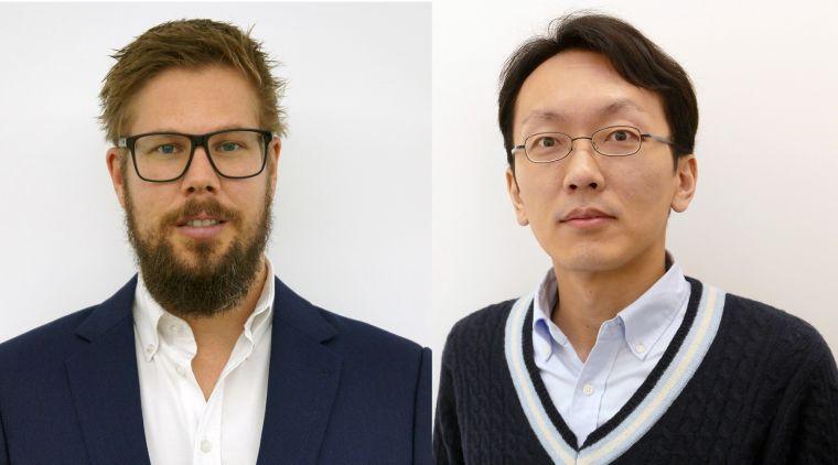 Joel Tarning and Makoto Saito