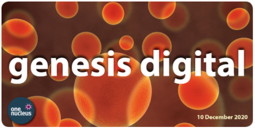 Flyer for Genesis Digital 2020