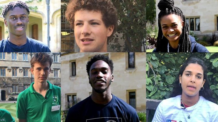Oxford students celebrate black history month