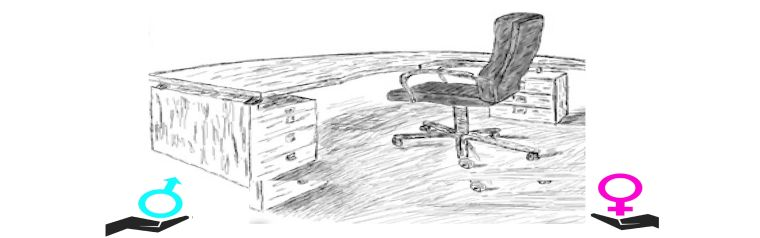 A desk and a chair