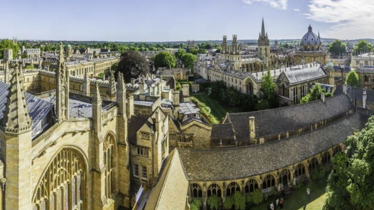 Oxford named best for medicine for ninth consecutive year