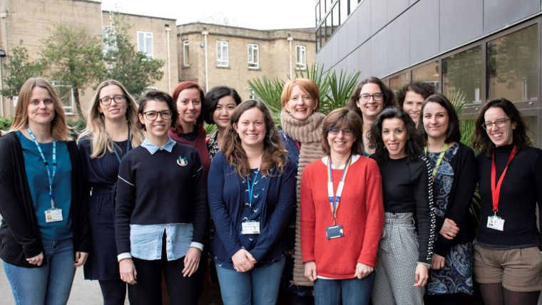 The 2019/2020 MRC WIMM Women in Leadership cohort with Milly Sinclair (middle)