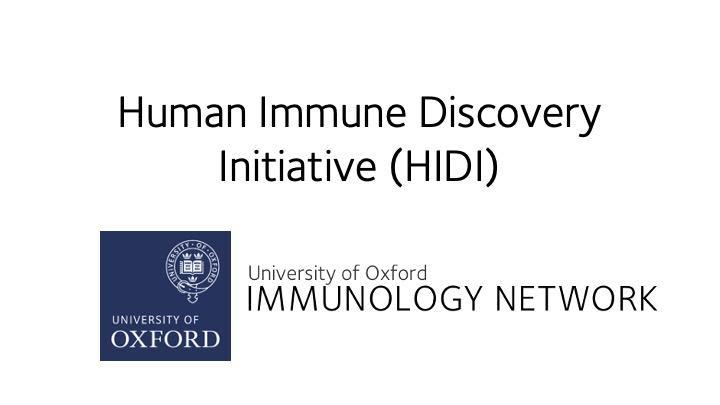 HIDI initiative logo