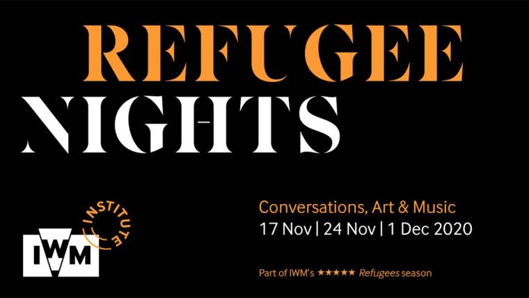 Refugee Nights logo and the Imperial War Museums Institute logo