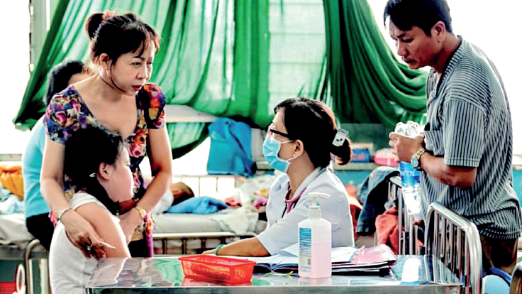Picturing health dengue in vietnam published in the lancet