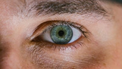 Close-up photo of a human eye