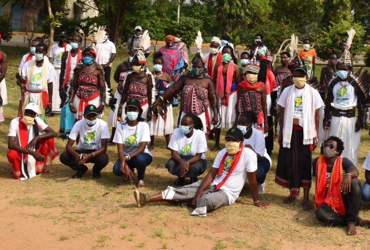 A community in Kenya