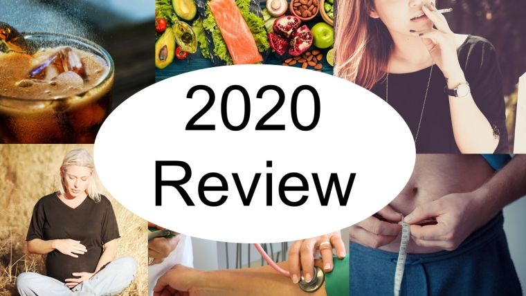 Image collage for 2020 review