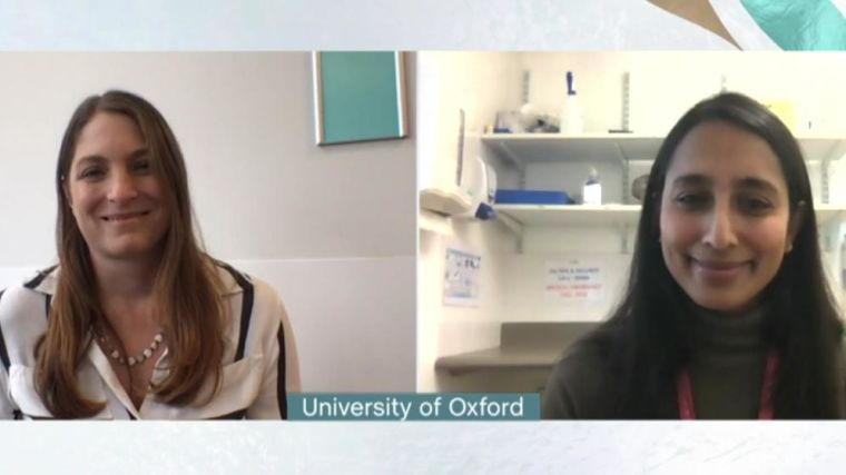 Professor Katie Ewer and Dr Maheshi Ramasamy