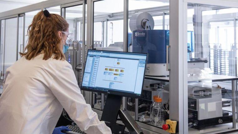 WCHG Covid Testing Serology Machine