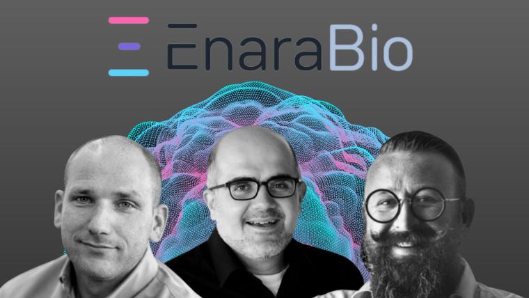 Image of new VP and Scientific advisory board members for Enara Bio