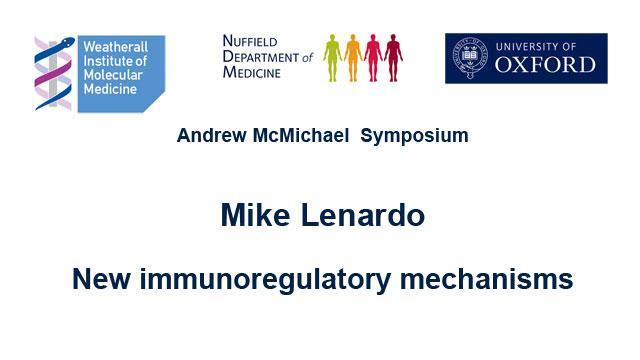screenshot of Mike Lenardo's podcast showing seminar topic