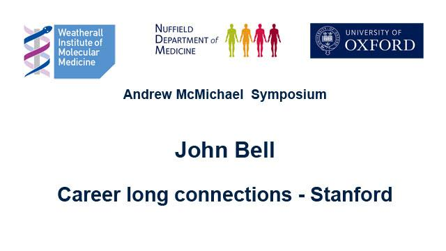 John Bell: Career long connections - Stanford