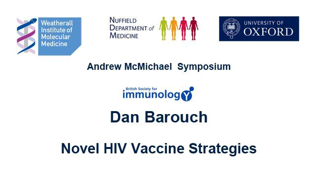 Dan Barouch:Novel HIV Vaccine Strategies