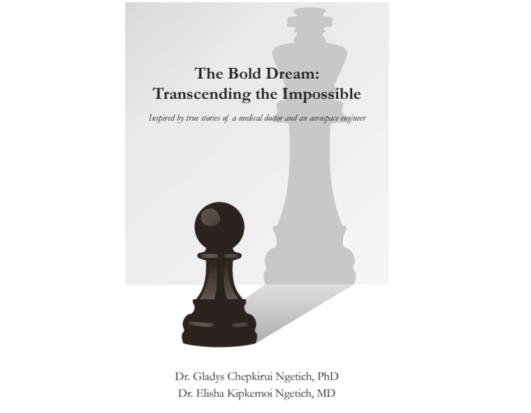 Book cover of The Bold Dream: Transcending the Impossible