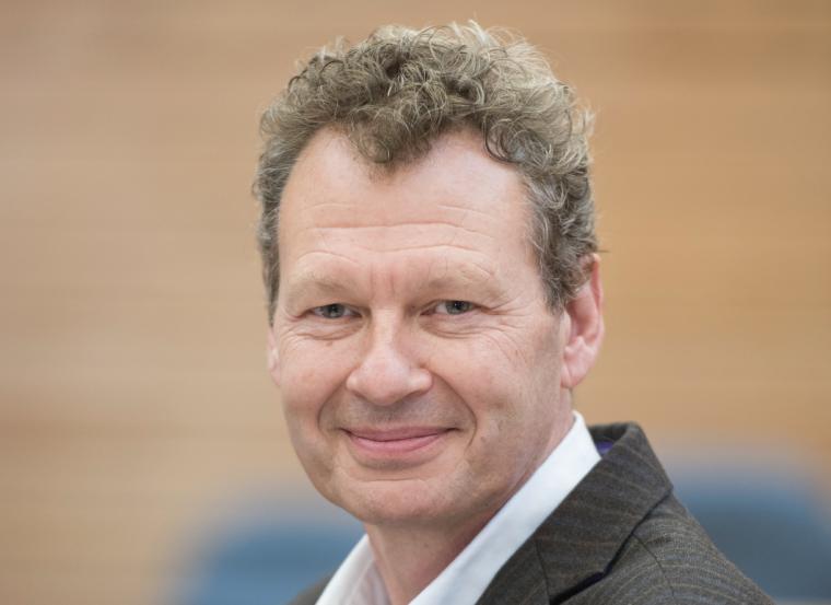 Professor Tim Elliot smiling