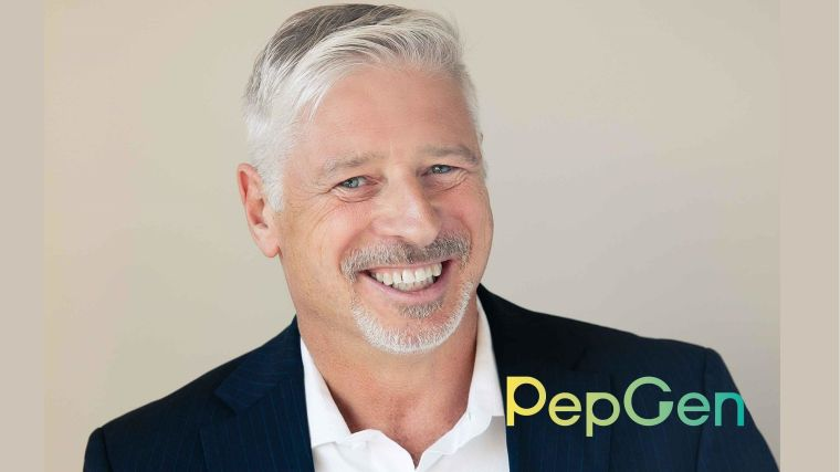 Image of PepGen's new CEO  James McArthur