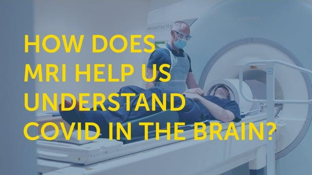 How does MRI help us to understand covid in the brain