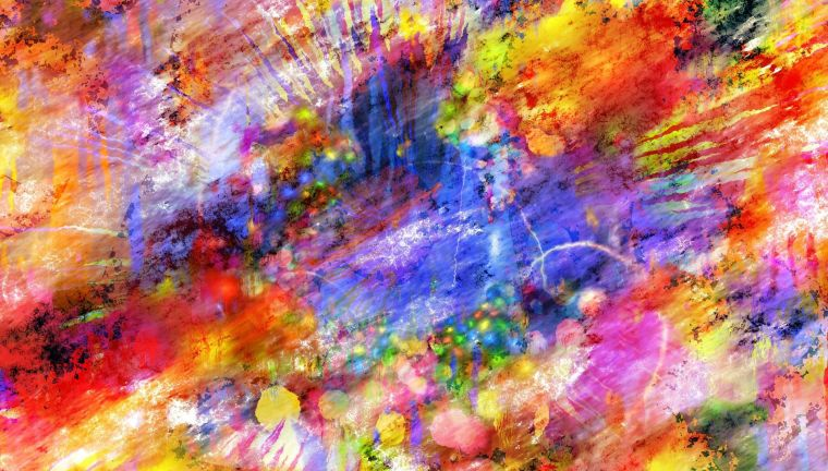 multi-coloured abstract art background