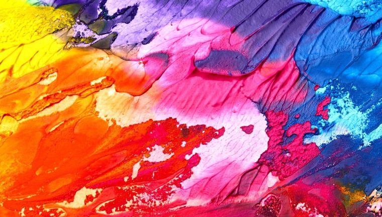 Multicolour abstract painting background