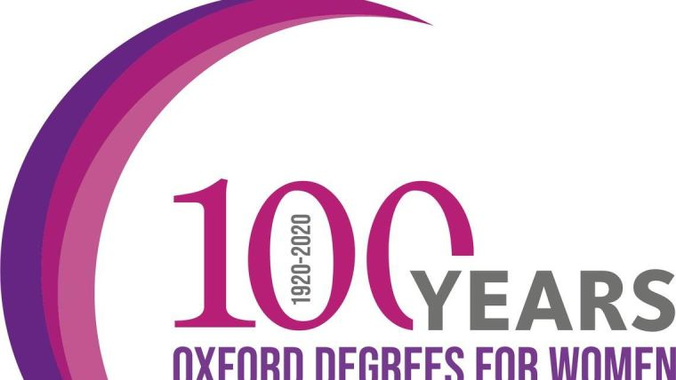 100 years Oxford degrees for women