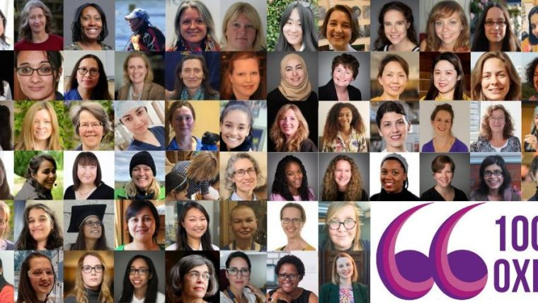 Photo montage of women in Oxford.