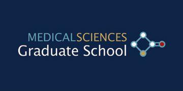 Medical Sciences Graduate School logo, linking to Graduate School webpage