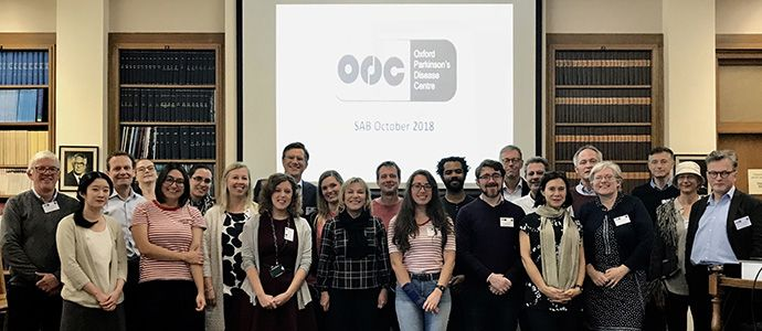 OPDC Team at the Scientific Advisory Board meeting 2018