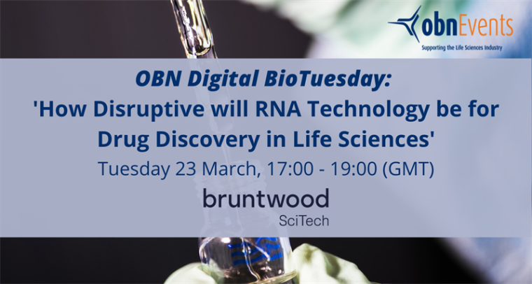Flyer for OBN's BioTuesday 23.03.2021