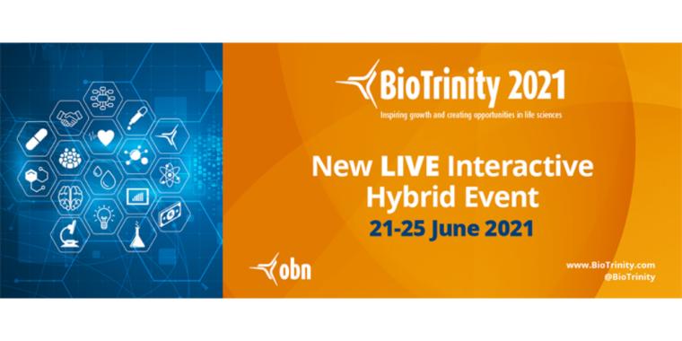 This image is advertising BioTrinity 2021.
