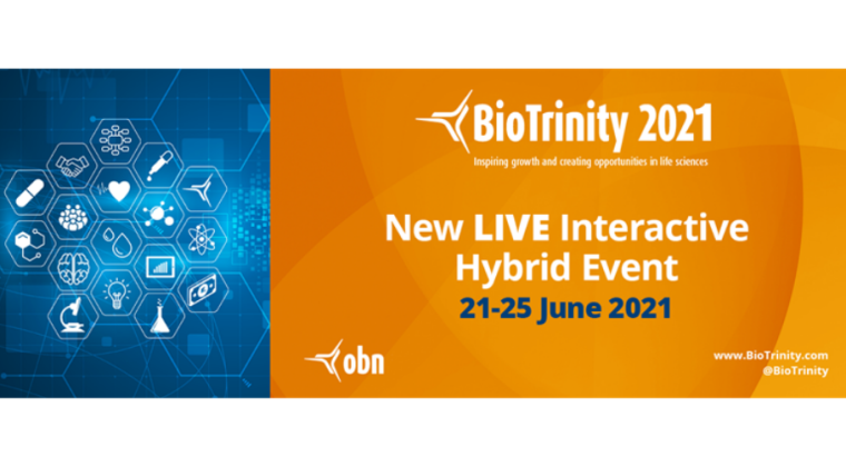 This image is advertising BioTrinity 2021.
