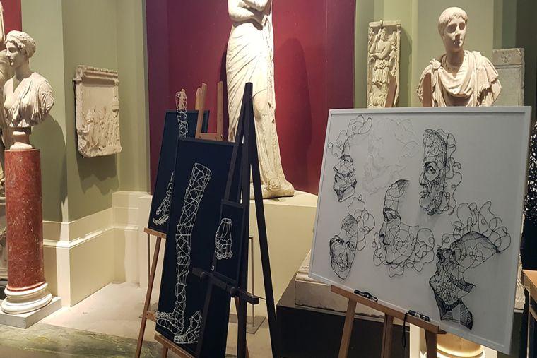 Picturing Parkinson's artwork