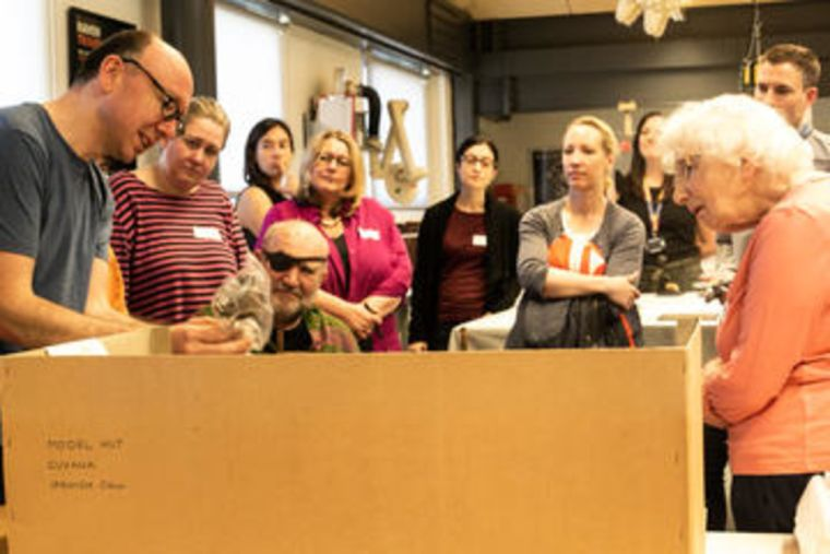 Messy Realities group at Pitt Rivers museum