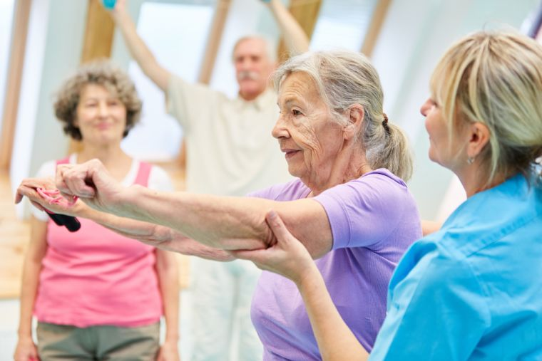 Preventing falls and improving mobility in older adults