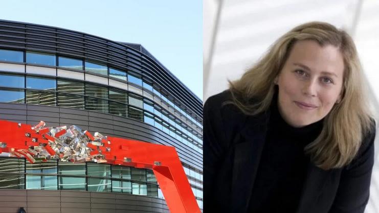 Big Data Institute building and Professor Cecilia Lindgren