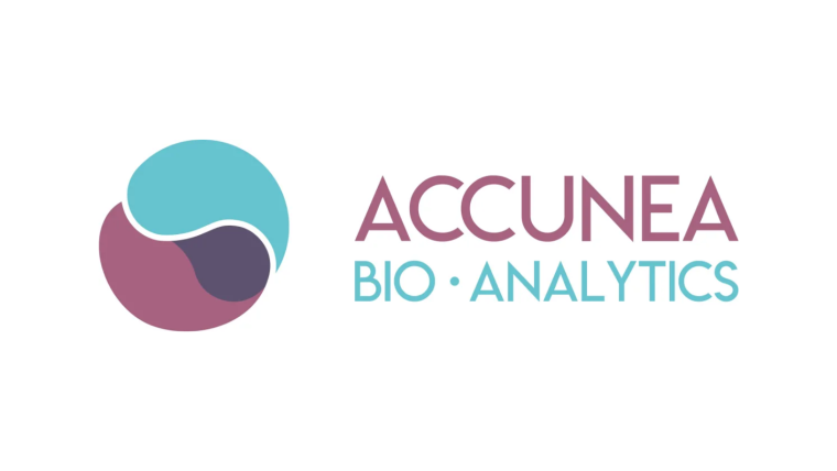 Accunea Logo with White Border