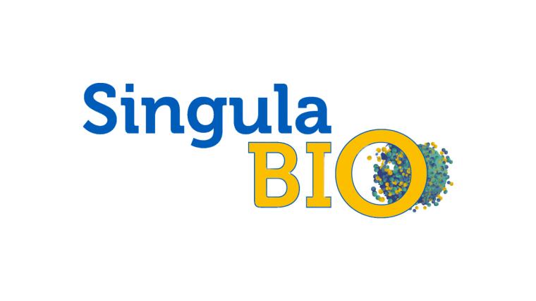 Singula Bio Logo with White Border